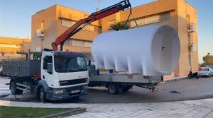 deposito almacenamiento agua contra incendio