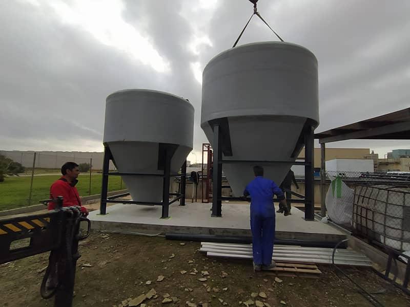 Equipos decantadores tratamiento aguas residuales industriales
