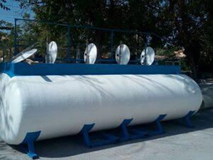 Cuba para transporte de abono líquido para empresa de Abonos y Fitosanitarios en Almería