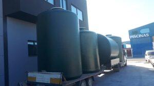 Depósitos verticales fondo plano para almacenamiento de agua de riego para provincia de Córdoba